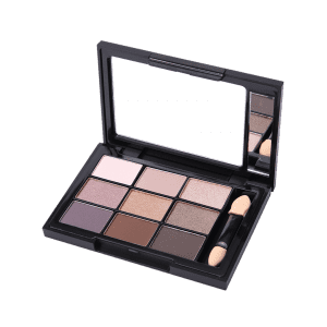 9 Colors Mineral Eyeshadow Palette with Brush -