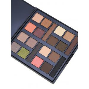 20 Colours Mineral Matte Shimmer Eyeshadow Palette - #01