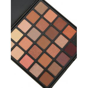 25 Colors Shimmer and Earth Color Eyeshadow Palette - #01