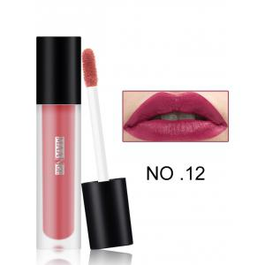 Moisturizing Long Wear Matte Lip Glaze - #12