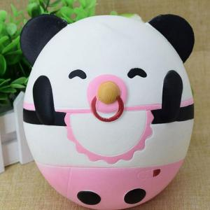 Slow Rising Squishy Toy Nose Ring Panda Simulation Animal