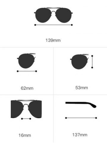 Outfit Sunscreen Butterfly Piebald Frame Spliced Sunglasses - TEA-COLORED  Mobile