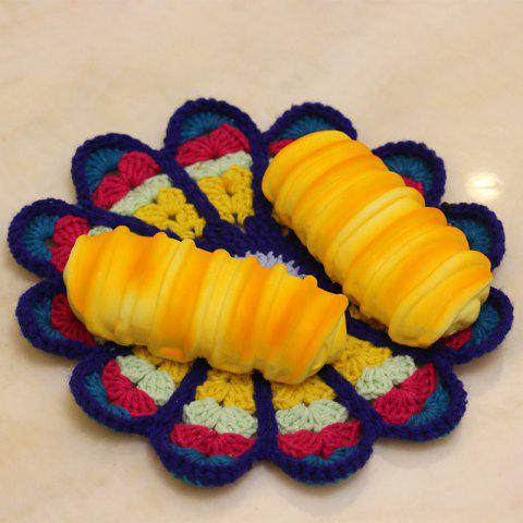 Buy PU Simulation Bread Slow Rising Squishy Toy - YELLOW  Mobile