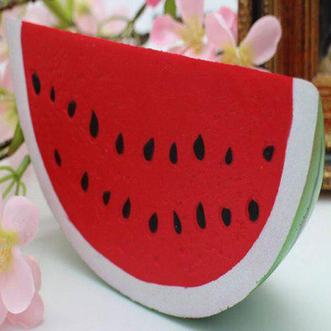 Fancy Watermelon Pastoral Slow Rising Squishy Toy RED