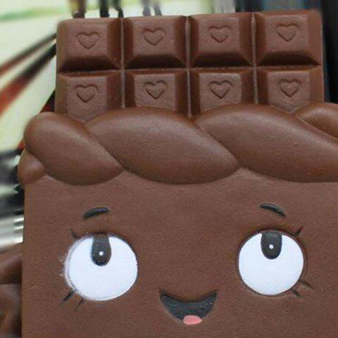 Fancy Simulation Toy Slow Rising Squishy Chocolate Person - CHOCOLATE  Mobile
