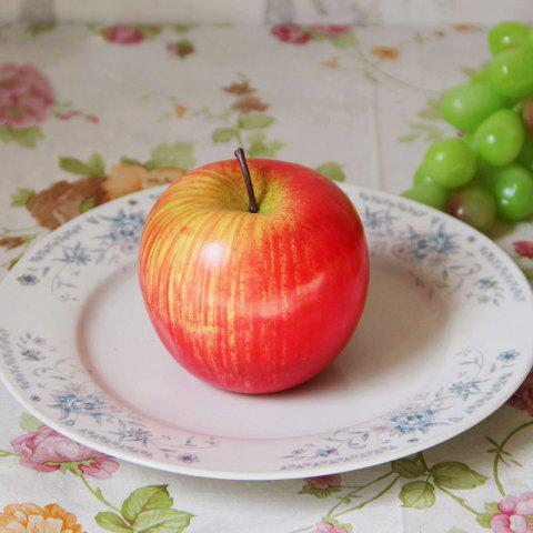 Hot Foam Decorative Fruit Simulation Artificial Apple - RED  Mobile