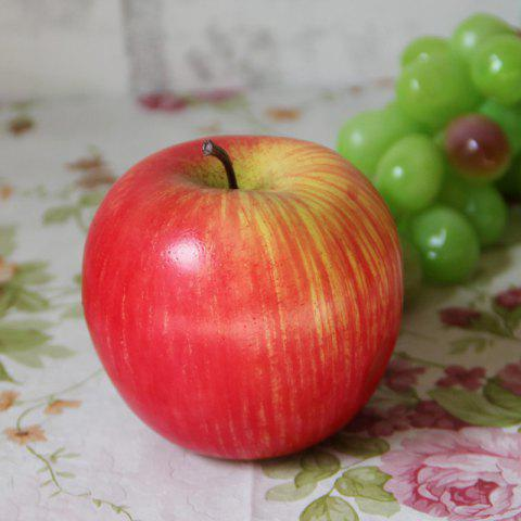 Buy Foam Decorative Fruit Simulation Artificial Apple RED