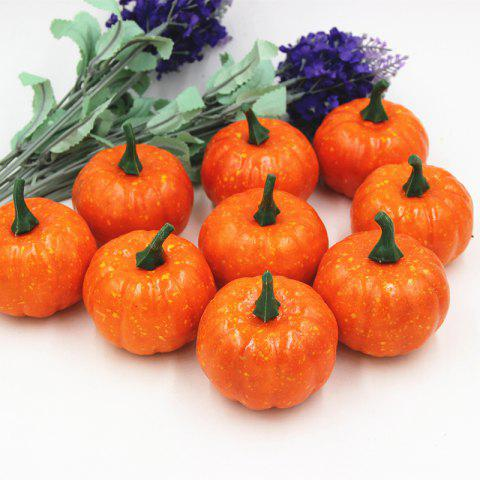 Cheap Anti Stress Pumpkin Shape Slow Rebound Squishy Toys ORANGE