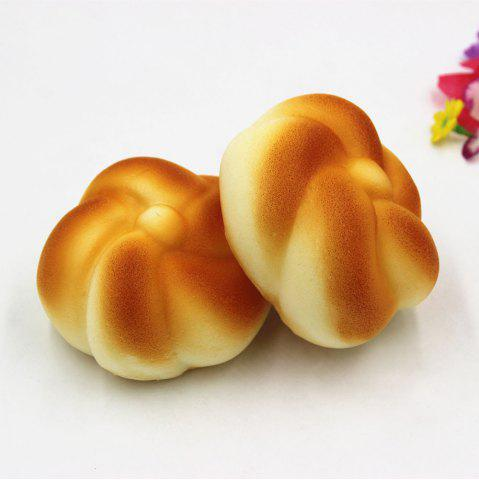 Outfit Simulation Bread Slow Rising Squishy Toy - YELLOW  Mobile
