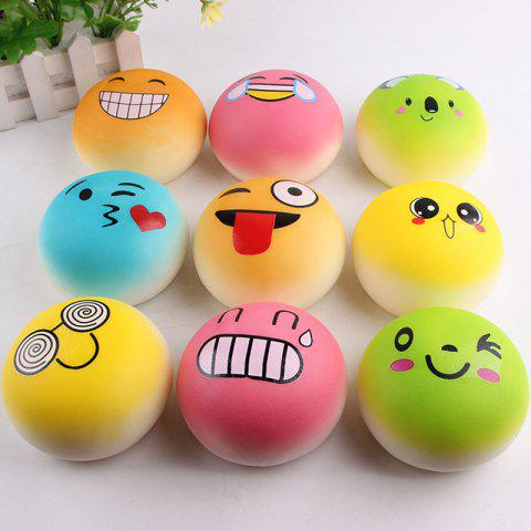 Online Emoji Bread Slow Rising Squishy Toy RANDOM COLOR