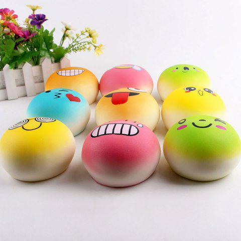 Outfits Emoji Bread Slow Rising Squishy Toy - RANDOM COLOR  Mobile