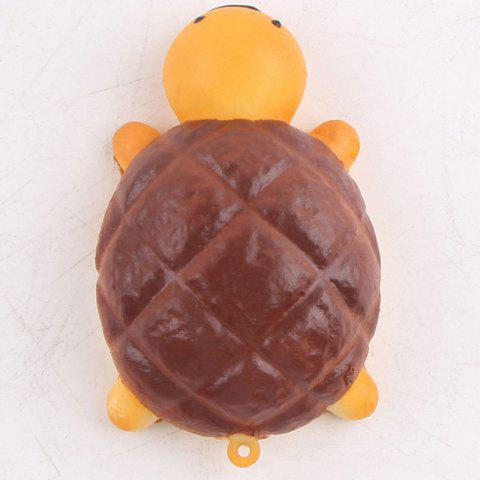 Affordable Squishy Toy Antistress Random PU Turtle Key Chain - 7.5*4.5CM RANDOM COLOR Mobile