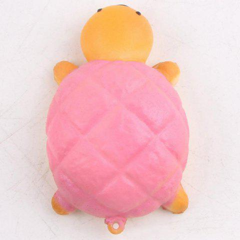 Fancy Squishy Toy Antistress Random PU Turtle Key Chain - 7.5*4.5CM RANDOM COLOR Mobile