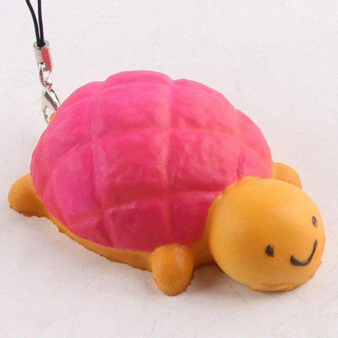 Sale Squishy Toy Antistress Random PU Turtle Key Chain - 7.5*4.5CM RANDOM COLOR Mobile
