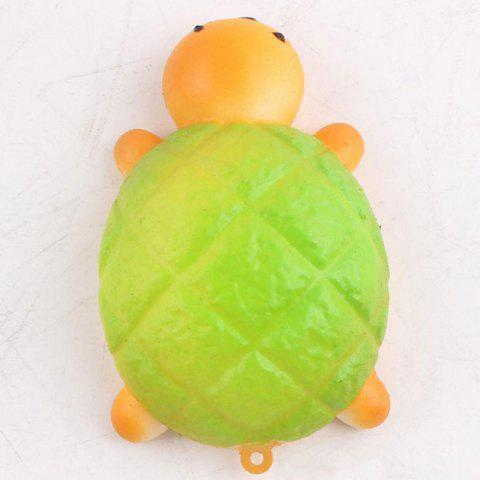 Cheap Squishy Toy Antistress Random PU Turtle Key Chain - 7.5*4.5CM RANDOM COLOR Mobile