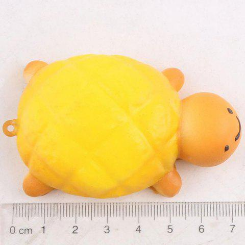 Latest Squishy Toy Antistress Random PU Turtle Key Chain - 7.5*4.5CM RANDOM COLOR Mobile