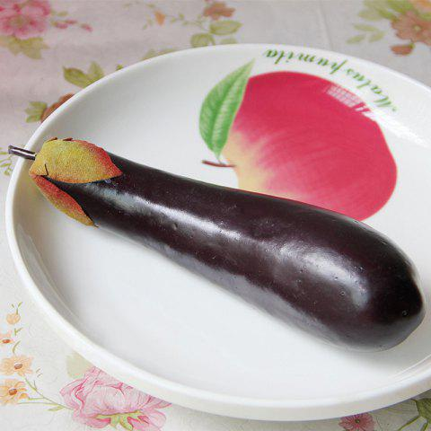 Buy Artificial Foam Vegetable Decorative Simulation Eggplant