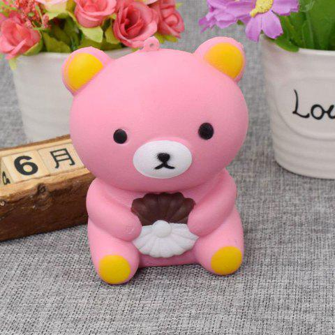 Store Stress Relief Simulation Bear Slow Rising Squishy Toy - PINK  Mobile