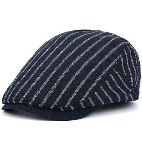 Hot Stripe Sunscreen Flat Cap