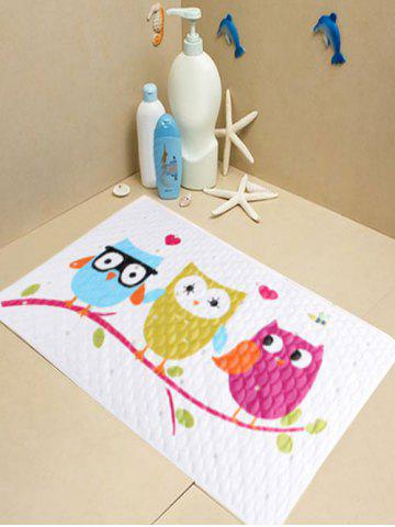 Outfit Cartoon Birds Fish Scale Antiskid Bathroom Rug - DAZZLING  Mobile