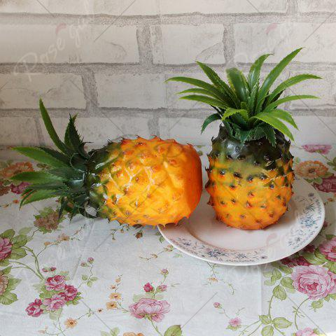 Sale Artificial Fruit Decorative Simulation Pineapple - YELLOW  Mobile