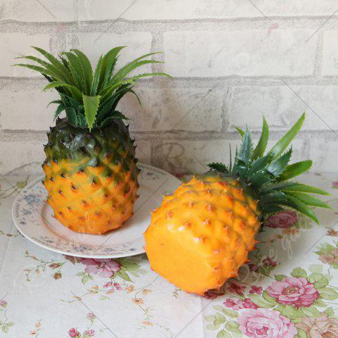 Online Artificial Fruit Decorative Simulation Pineapple - YELLOW  Mobile
