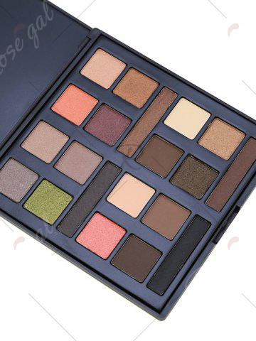 Online 20 Colours Mineral Matte Shimmer Eyeshadow Palette - #01  Mobile