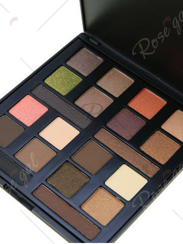 Store 20 Colours Mineral Matte Shimmer Eyeshadow Palette - #01  Mobile