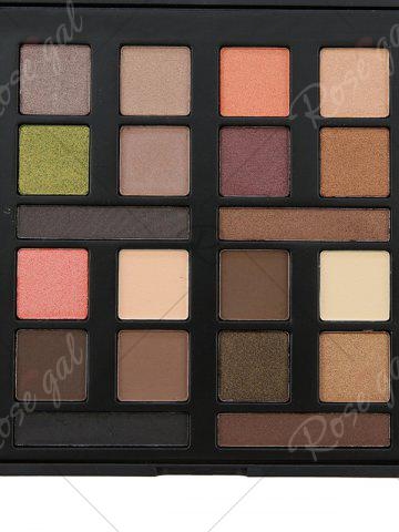 Cheap 20 Colours Mineral Matte Shimmer Eyeshadow Palette - #01  Mobile