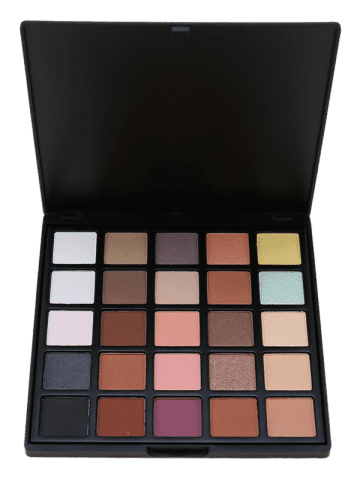 Latest 25 Colors Shimmer and Earth Color Eyeshadow Palette #02