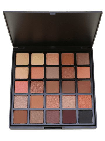 Chic 25 Colors Shimmer and Earth Color Eyeshadow Palette