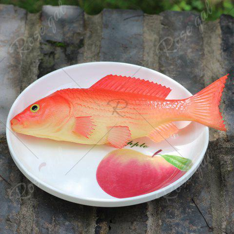 Buy PU Simulation Carp Fish Model Squishy Toy - RED  Mobile