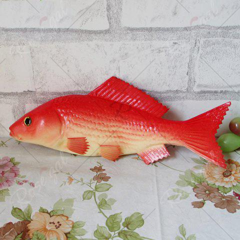 Store PU Simulation Carp Fish Model Squishy Toy - RED  Mobile