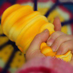 PU Simulation Bread Slow Rising Squishy Toy - Jaune