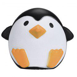 Cartoon Squishy Penguin Slow Rising Simulation Toy