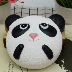 Squishy Animal Cartoon Simulation Toy Slow Rising Panda - BLACK WHITE