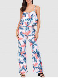 Lace-up Palm Leaf Camis and Exumas Pants