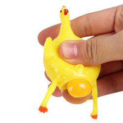 Stress Relief Squishy Squeeze Toys Chicken and Egg