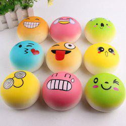 Emoji Bread Slow Rising Squishy Toy
