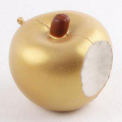 Soft Slow Rising Squishy Apple Anti Stress Toy - GOLDEN