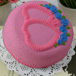 Simulation Toy Love Heart Cake Slow Rising Squishy Food