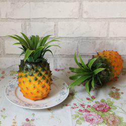 Artificial Fruit Decorative Simulation Pineapple - YELLOW