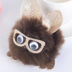 Lunettes de protection pour animaux Pom Pom Ball Keyring -