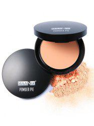 Delicate Round Mineral Foundation Powder Pie -