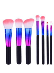 7Pcs Face Eye Make Up Brushes Set