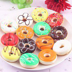 Random Slow Rising Simulated Doughnut Squishy Toy - RANDOM COLOR