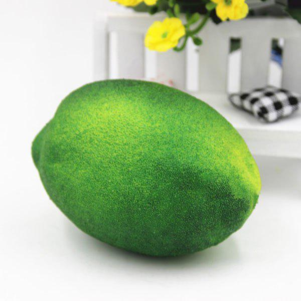 Store Stress Relief Simulated Lemon Shape Squishy Toy
