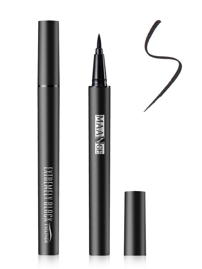 Fast Dry Liquid Eyeliner PencilBEAUTY<br><br>Color: BLACK; Category: Eyeliner; Type: Liquid; Features: Limits Bacteria; Season: Fall,Spring,Summer,Winter; Weight: 0.0200kg; Package Contents: 1 x Eyeliner Pencil;