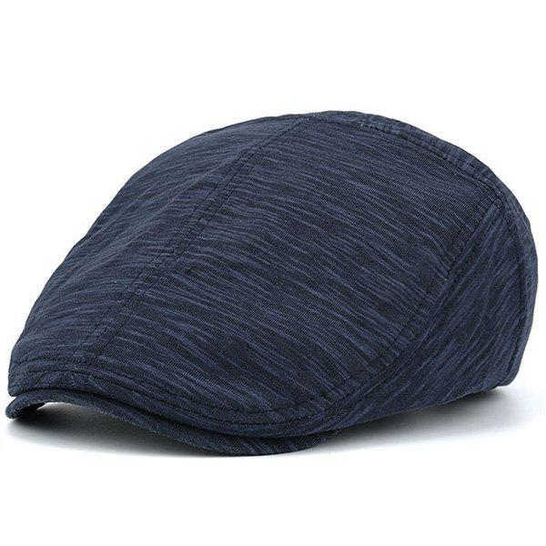 Nostalgic Lines Retro Newsboy HatACCESSORIES<br><br>Color: CADETBLUE; Hat Type: Newsboy Caps; Group: Adult; Gender: For Men; Style: Vintage; Pattern Type: Striped; Material: Polyester; Weight: 0.0850kg; Package Contents: 1 x Hat;