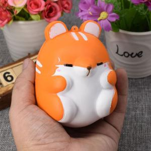Simulation Hamster Slow Rising Squishy Toy - Orange - M